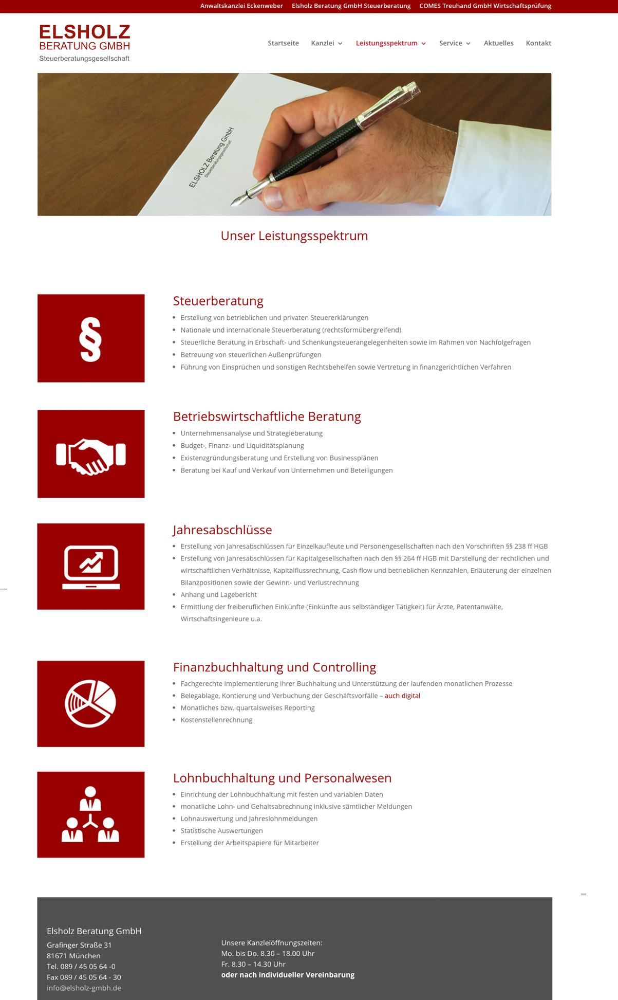 punktneun-Elsholz-GmbH-Webseite-Steuerkanzlei-Leistungen