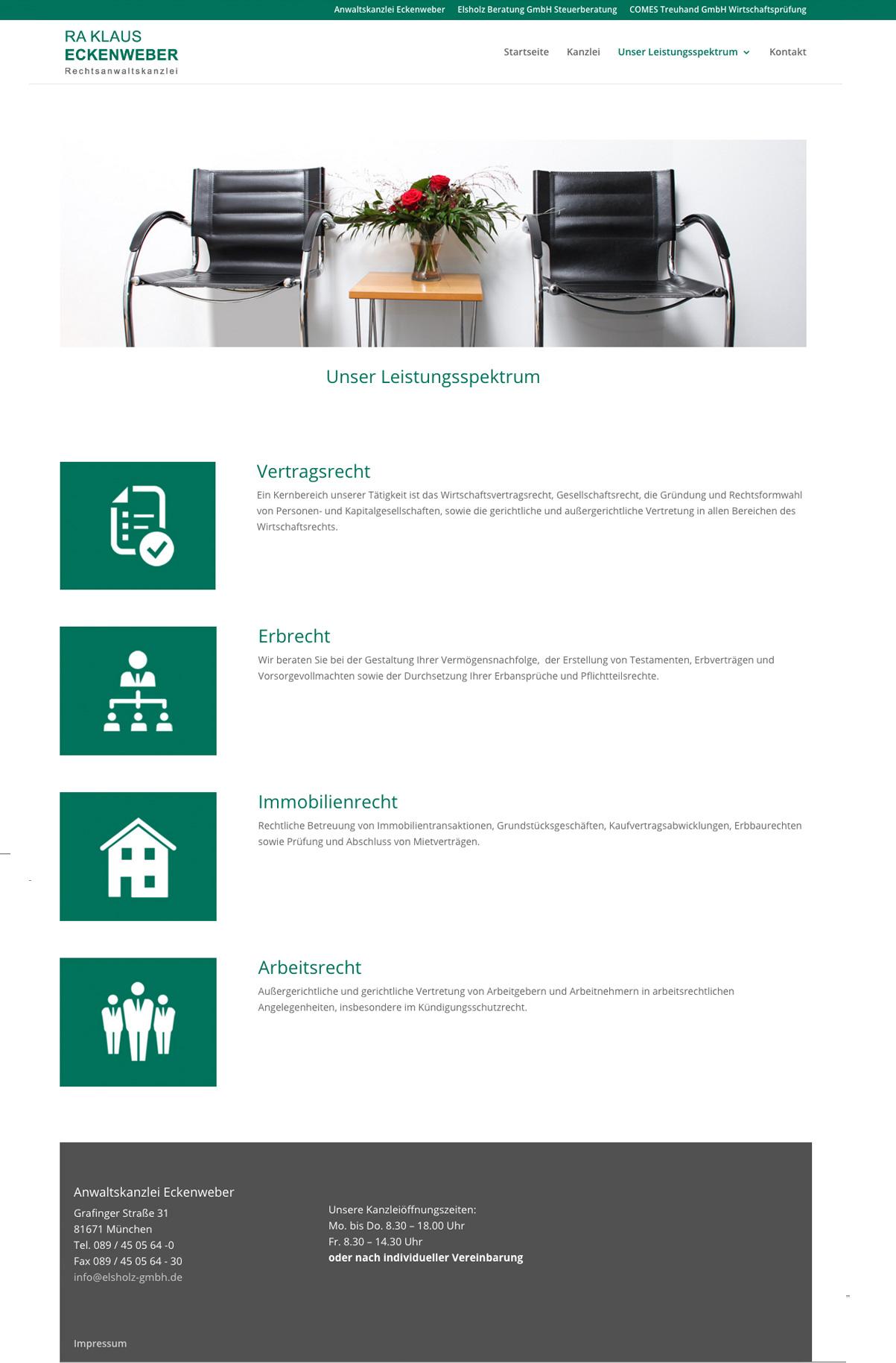 punktneun-Elsholz-GmbH-Webseite-Kanzlei-Eckenweber-Leistungen
