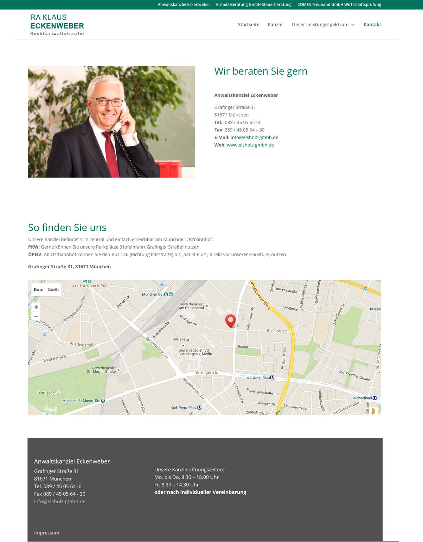 punktneun-Elsholz-GmbH-Webseite-Kanzlei-Eckenweber