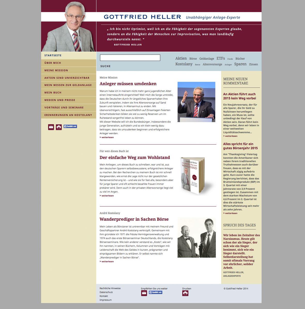 punktneun-Gottfried-Heller-Webseite-Startseite