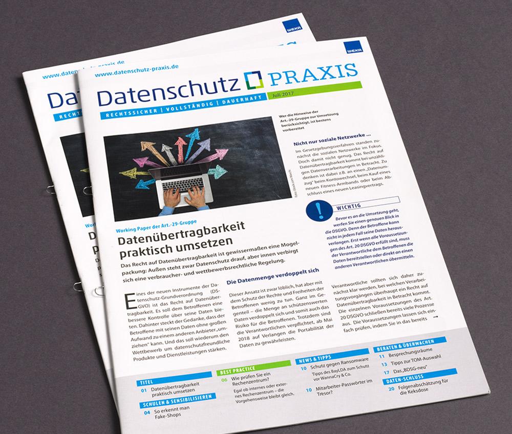 punktneun-Datenschutzpraxis-Magazin-Titelseite