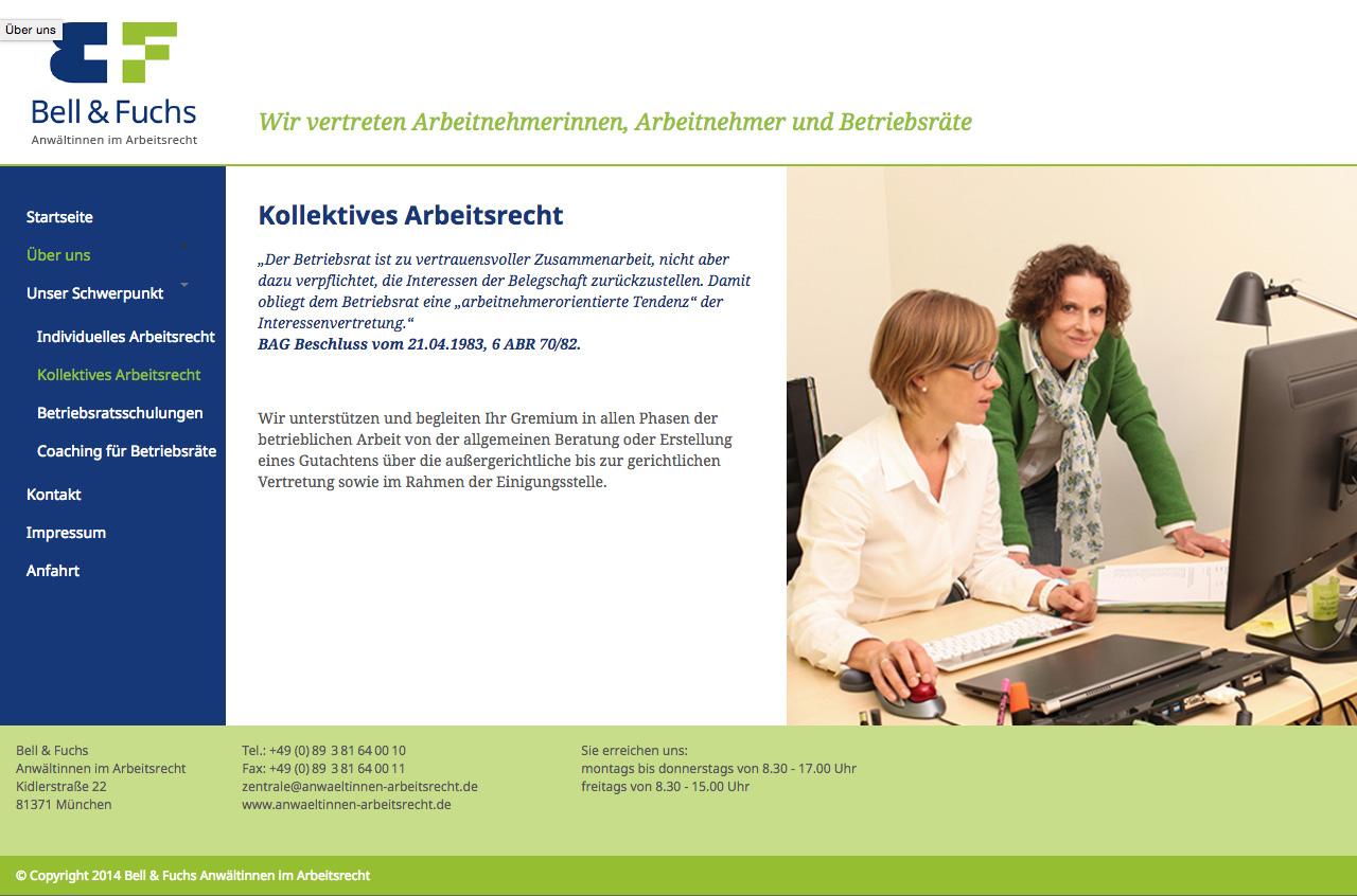 Bell-und-Fuchs-Webseite-Arbeitsrecht