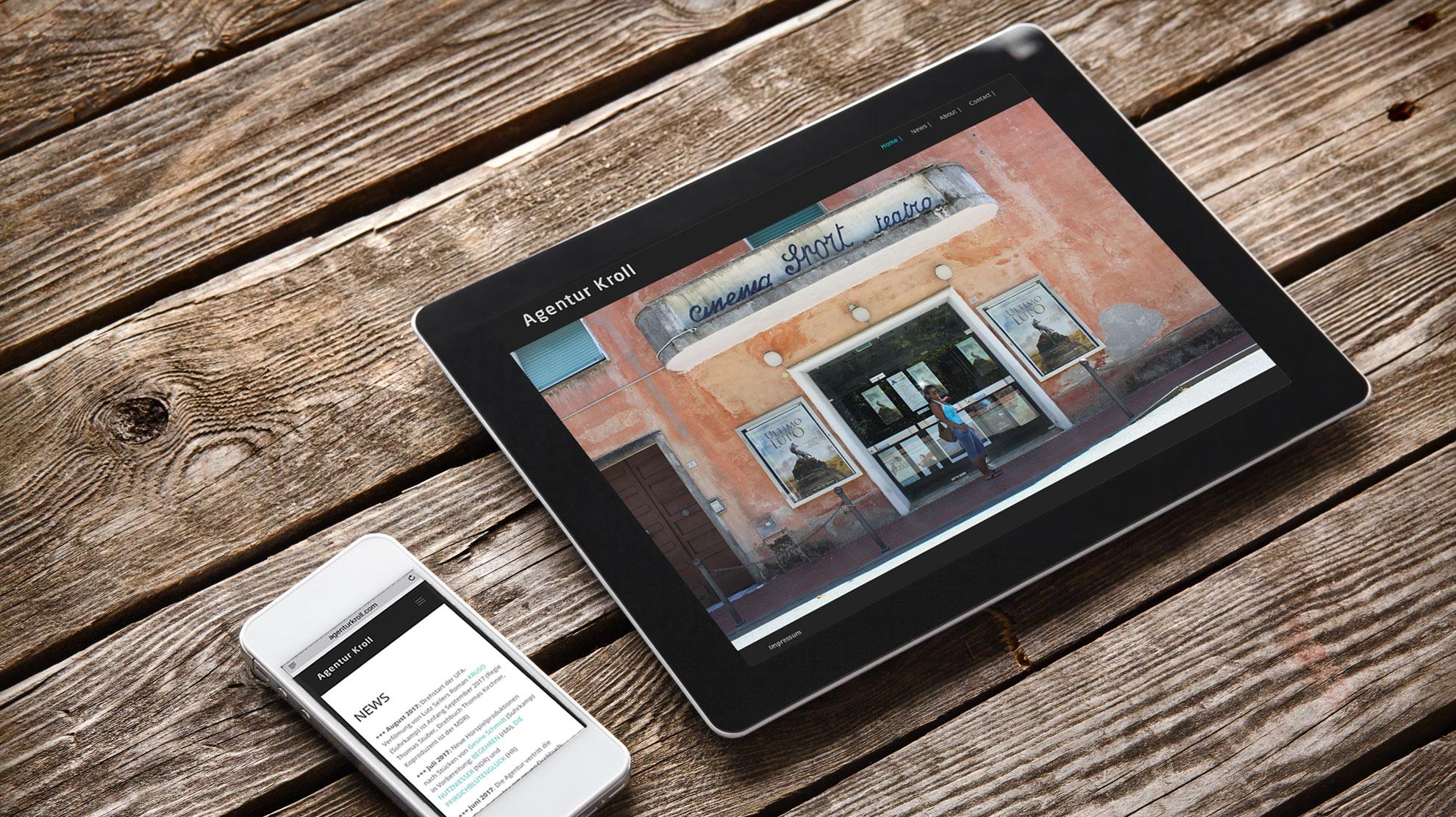 punktneun-Agentur-Kroll-Website-Tablet