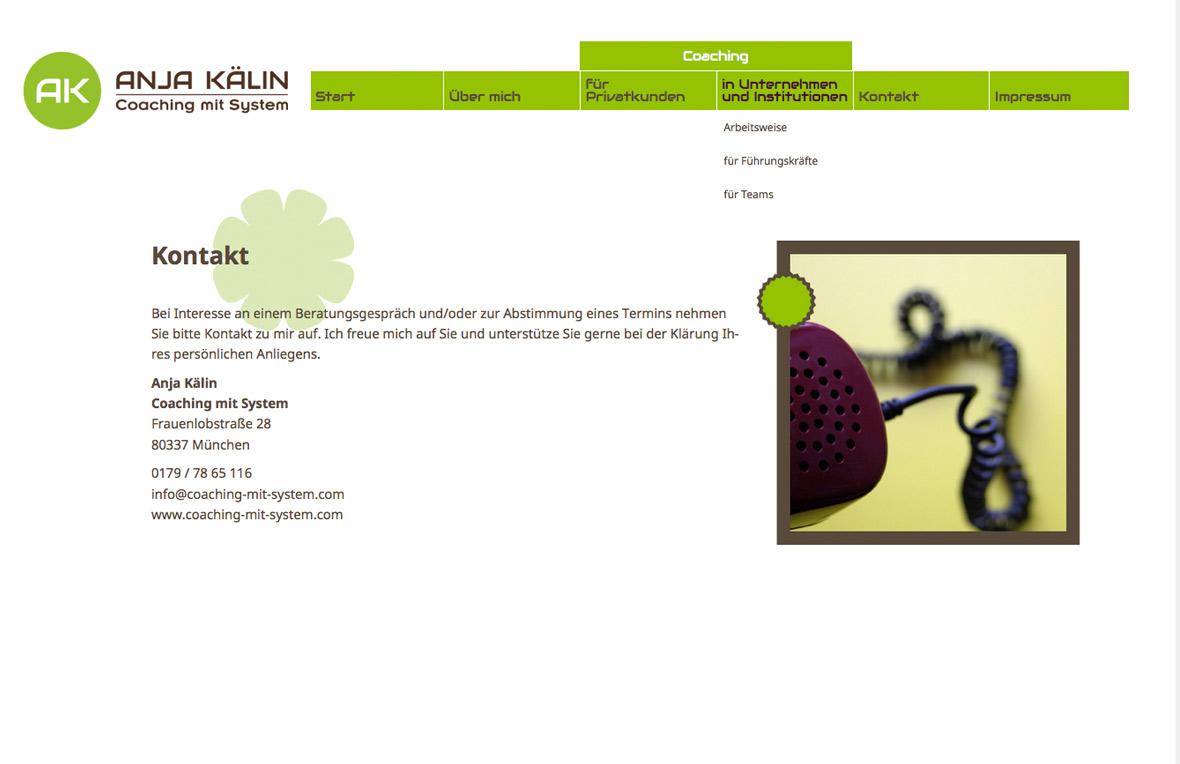 Coaching-mit-System-Kontaktseite