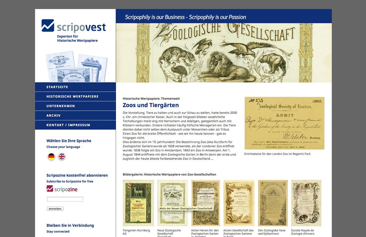 punktneun-Scripovest-Webseite-Historische-Wertpapiere