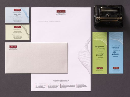 HWPH – Corporate Design, Editorialdesign und Webdesign für ein Auktionshaus