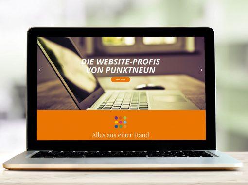 Webdesign für Steuerberater – Eine Info-Webseite