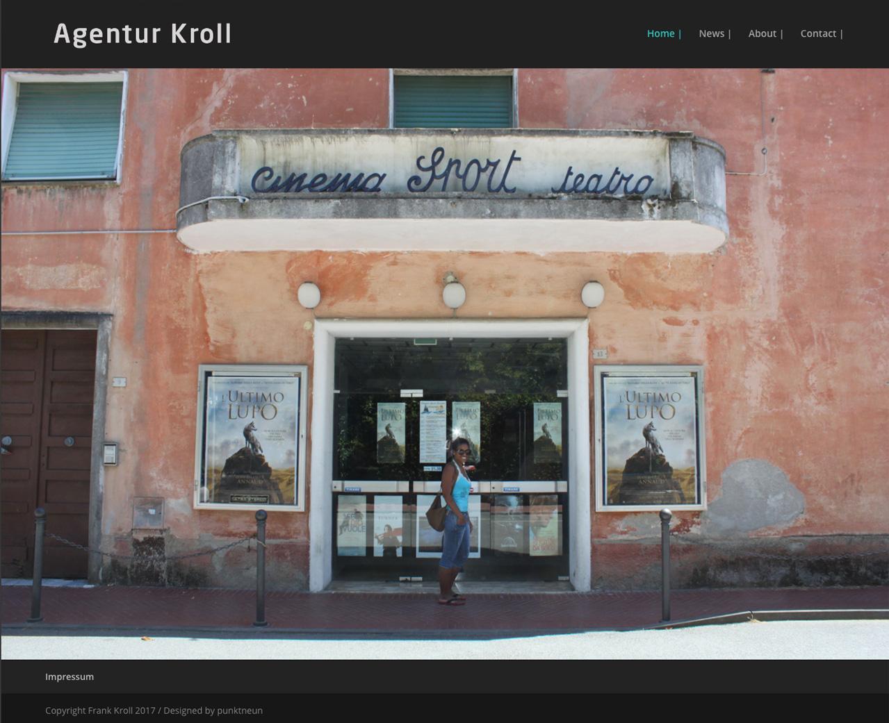 Agentur-Kroll-Startseite