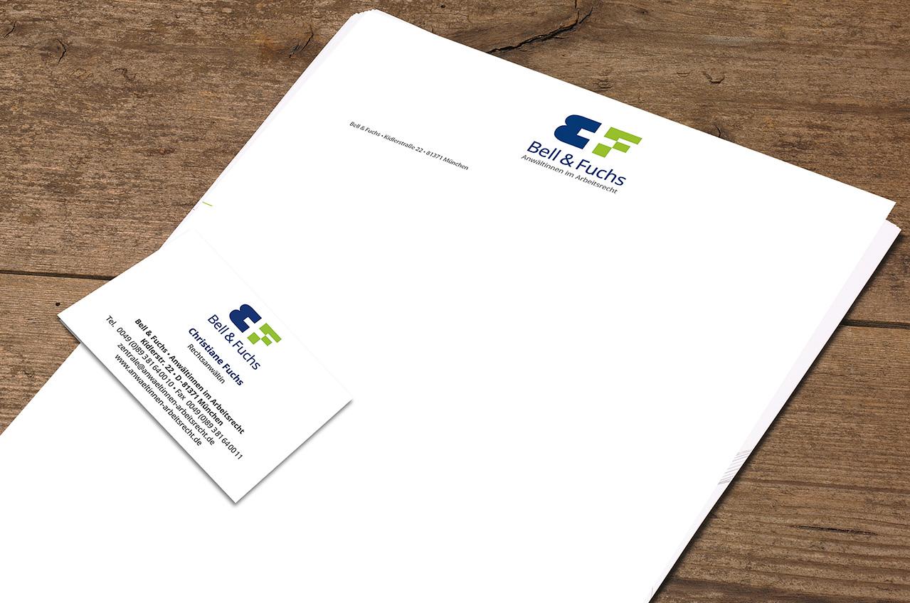 Bell-und-Fuchs-Briefpapier