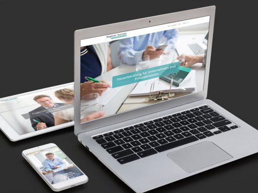Bügener:Karnatz Steuerberatung – Corporate Design und Webdesign für einen Steuerberater