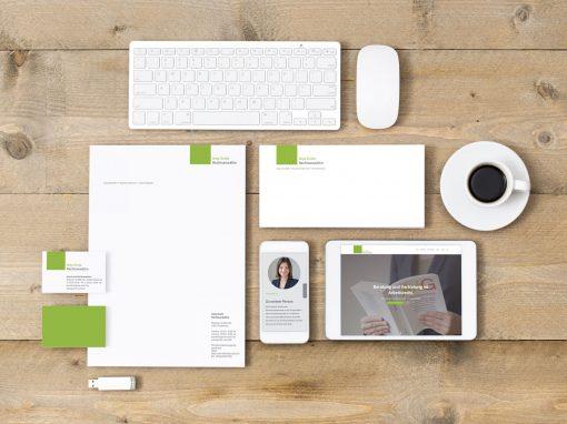 Rechtsanwältin Grote – Corporate Design und Webdesign