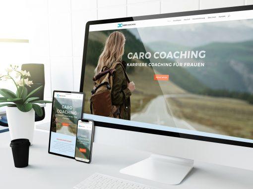 Webdesign für Coaches – Musterseite