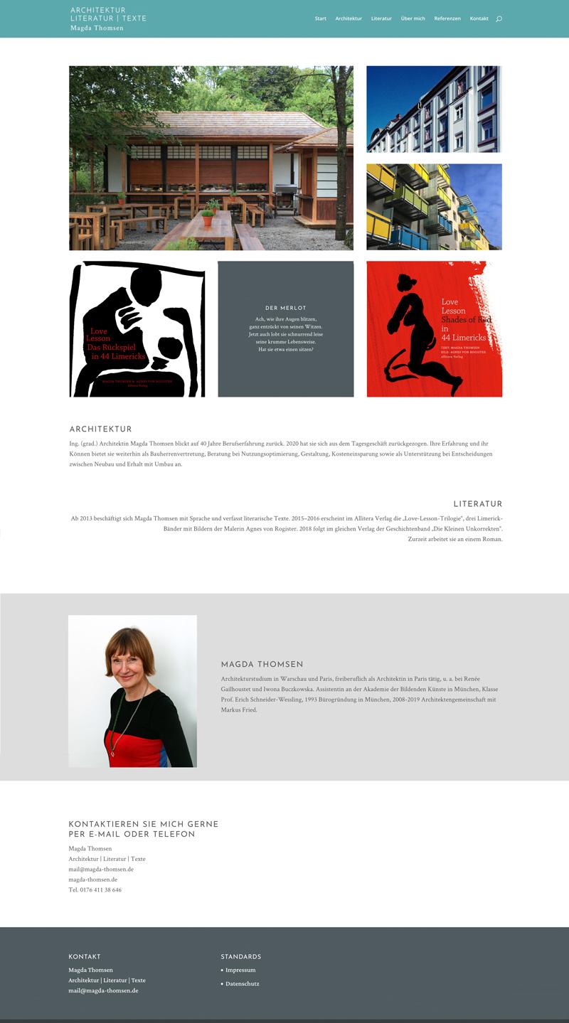 Startseite der Heller-Website