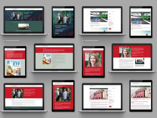 Finanzjournalisten – Webseite und Blog