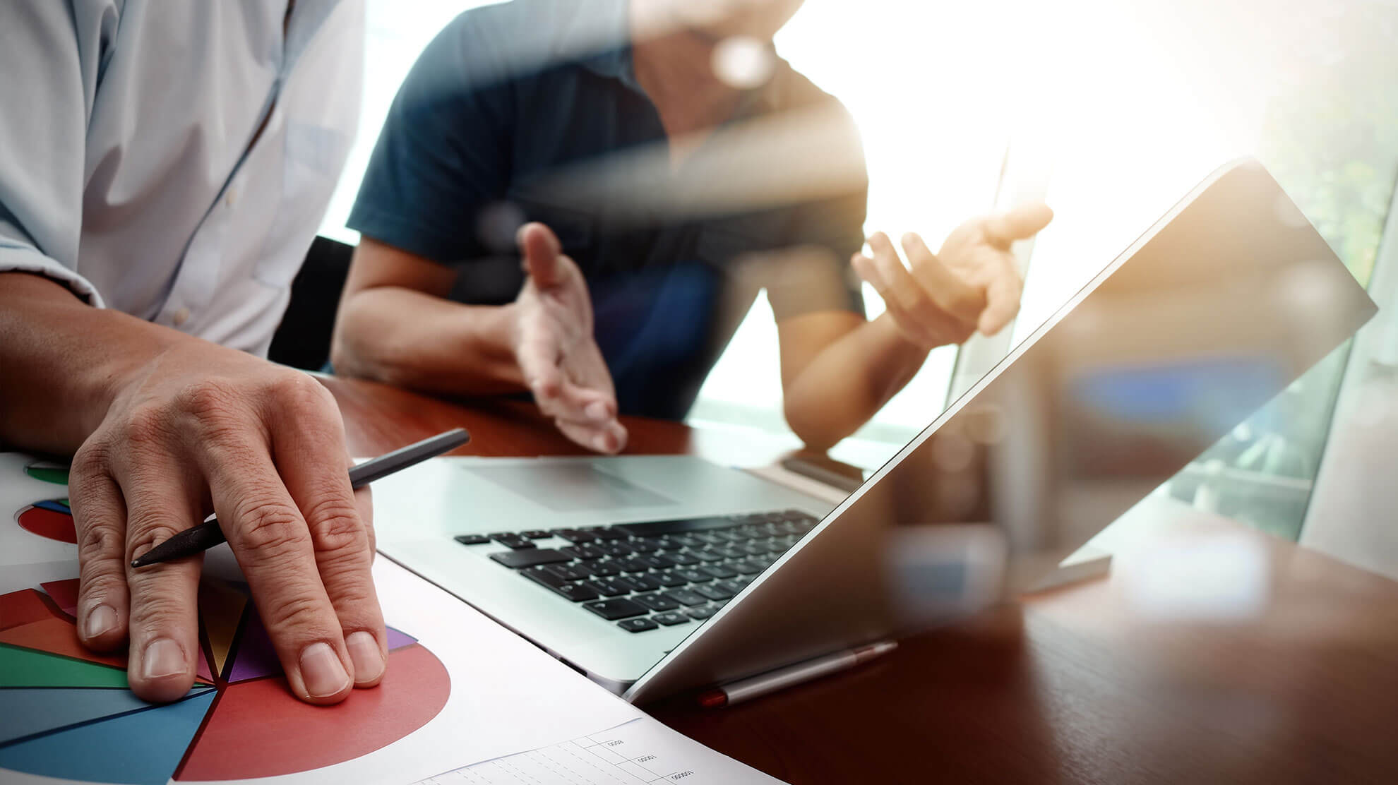 Eine Schulung in WordPress bei der Agentur punktneun-Webdesignn